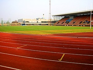 Commonwealth Paraplegic Games - Meadowbank Stadium was the main venue for the 1966 Commonwealth Paraplegic Games at Edinburgh, Scotland