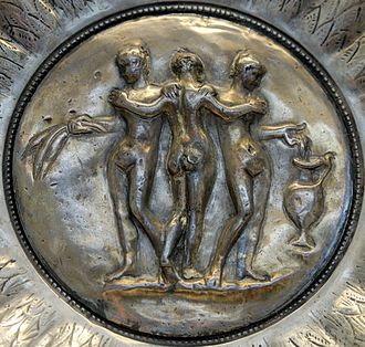 Chatuzange Treasure - Image: Medallion Graces BM GR1893.5 1.2