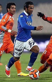 Mehrdad Oladi Iranian footballer