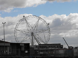 Melbourne Star - The first cars being reattached during the restoration in August 2013