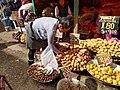 Mercado Modelo de Huancayo Peru- Solanum tuberosum varieties V.jpg