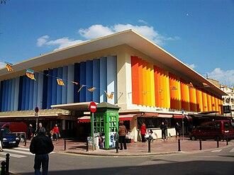 Ruzafa - Ruzafa's market in 2010