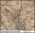Messtischblatt 25 Recklinghausen-Innenstadt 1907 vs 2013.png