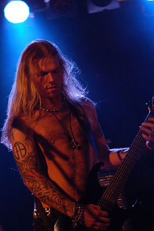 Terji Skibenas from Týr during Metalmania 2007 festival