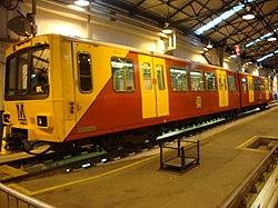 Metrocar 4014, Tyne and Wear Metro depot open day, 8 August 2010.jpg