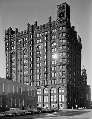 Metropolitan Building (Minneapolis) - The Metropolitan Building in November 1960