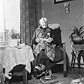 Mevrouw H A Borggreve te Amsterdam 100 jaar op 244, Bestanddeelnr 909-5015.jpg