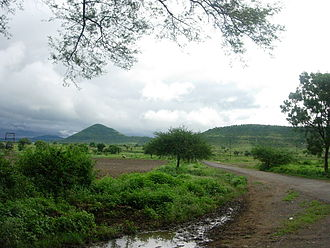 Paramartha - Typical countryside of the Malwa region in India