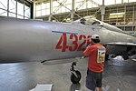 MiG-21PF - Pacific Aviation Museum (7451447718).jpg