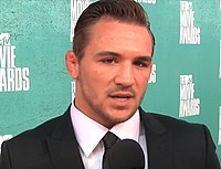 Michael Chandler at MTV Movie Awards 2012.jpg