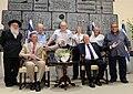 Michel de Ligne and Holocaust survivors (1).jpg