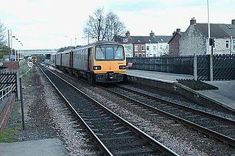 Micklefield railway station - Platform 2