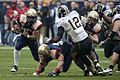 Midshipmen on offense at 2009 Texas Bowl 1.JPG