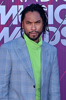 Miguel (singer) American singer, songwriter, record producer, and actor from California
