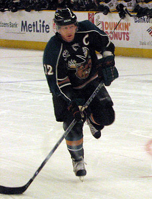 Mike Keane - Keane with the Manitoba Moose.