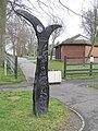 Milepost, Omagh - geograph.org.uk - 154828.jpg