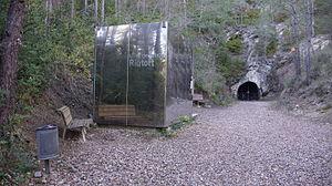 Guardiola de Berguedà - Mine entrance