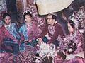 Minang marriage, bride and groom, Wedding Ceremonials, p25.jpg
