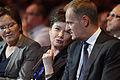 Minister Zdrowia Ewa Kopacz, Prezydent Warszawy Hanna Gronkiewicz-Waltz, Premier Donald Tusk (5825447661).jpg