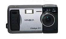 the dimage ex an early digital camera minolta dimage z1 - Minolta Digital Camera