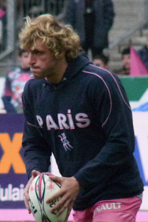 Mirco Bergamasco - Bergamasco with Stade Français in 2010.