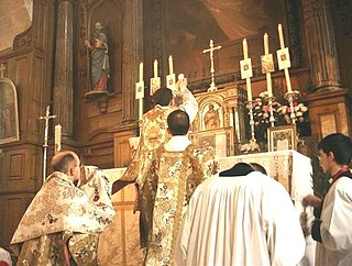 Mass in the Catholic Church Central liturgical ritual