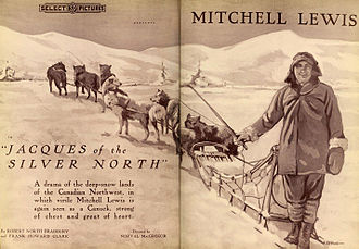 Mitchell Lewis - Jacques of the Silver North, 1919
