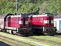 Mladá Boleslav, lokomotivy nákladních vlaků.jpg