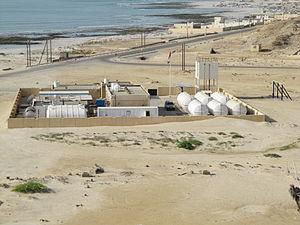 Forward osmosis - Modern Water's containerised forward osmosis desalination plant at Al Khaluf, Oman