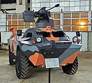 Modernized BRDM-2 of STC Delta (Georgia) 01.jpg