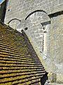 Mogneville (60), église Saint-Denis, clocher, 1er étage, côté sud 2.JPG