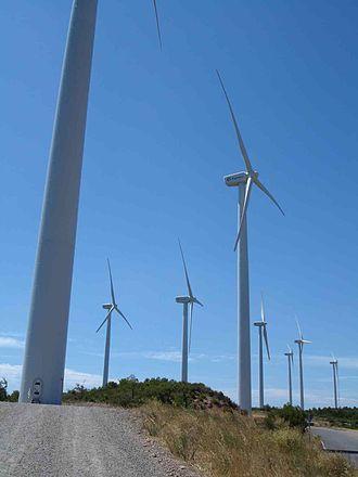 Rubió - Rubió wind farm