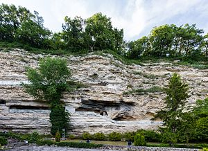 Aladzha Monastery - Aladzha Monastery from outside