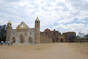 Economy of Oaxaca - Monastery complex at Cuilapan de Guerrero