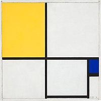 Mondrian - Composition no II, 1929.jpg