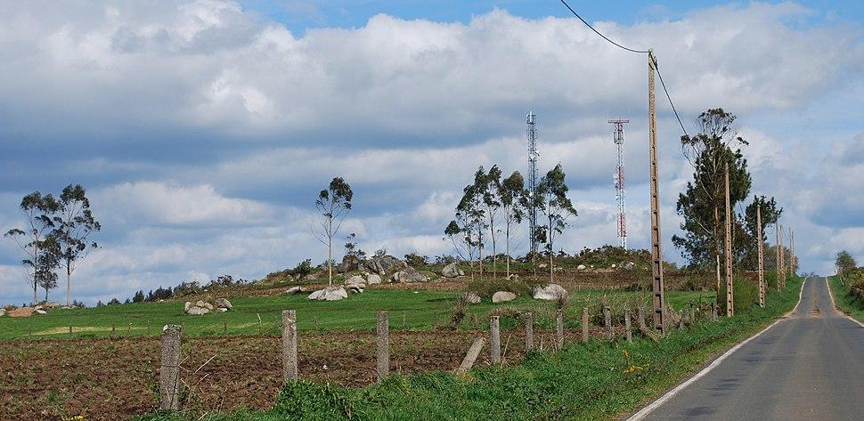 Monte Enxameado Curtis A Coruña