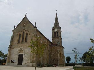 Montferrat, Isère - The church of Montferrat