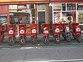 Mopeds In Readiness, Surbiton - geograph.org.uk - 469349.jpg