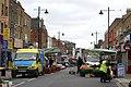 Morning set-up at Chapel Street market, Islington (2) - geograph.org.uk - 1523958.jpg