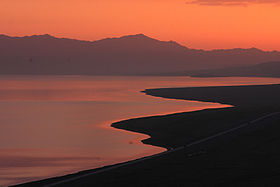 Morning sunshine 3 - Lake Sailimu, aka Sayram.jpg