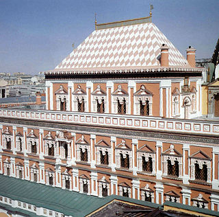 building of Terem Palace, Russia