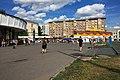 Moscow, Krasnopresnenskaya Zastava before the 2016 demolitions (30706233363).jpg