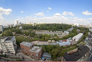 Preobrazhenskoye District - View of Preobrazhenskoye District