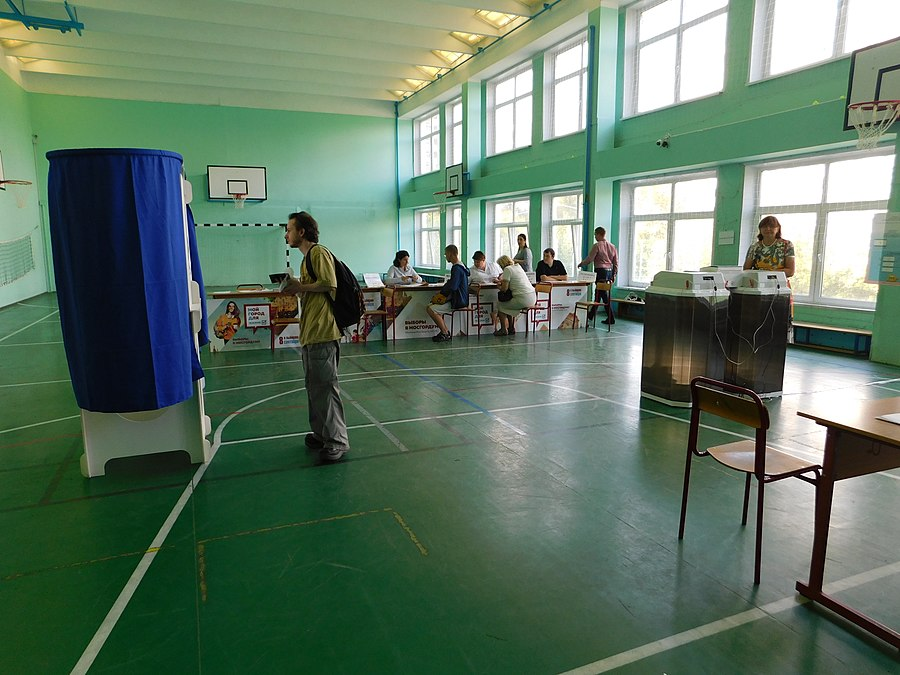 Moscow City Duma election, 2019. Polling station 0768 35.jpg