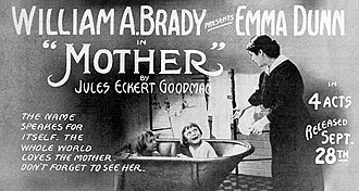 Emma Dunn - Advertisement for Mother (1914)