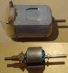 Brushed DC electric motor - Wikipedia