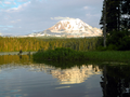 Mount Adams Reflection at Takhlakh Lake.png