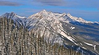 Vermilion Range (Alberta) mountain range in Alberta