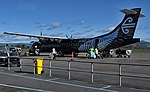 Mount Cook Airline ATR 72-600 at Rotorua Airport (cropped).jpg