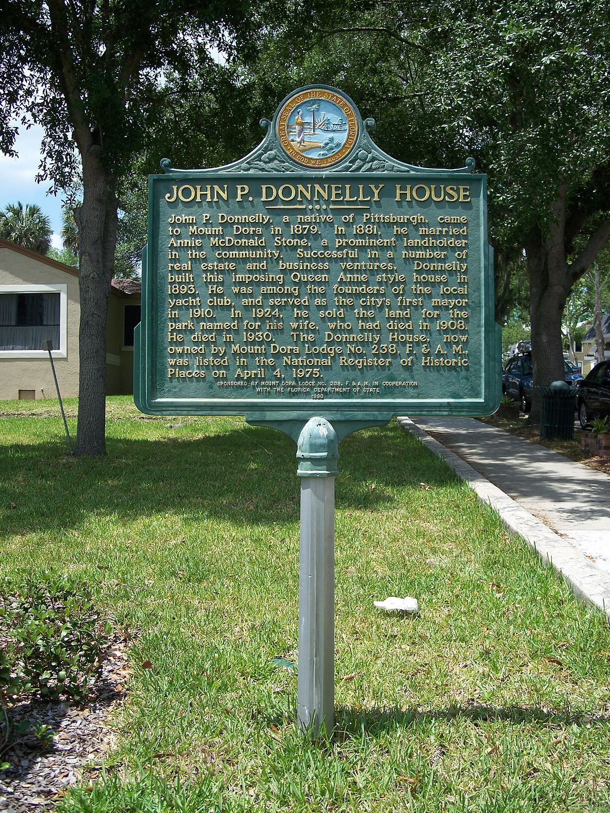 Donnelly house mount dora florida wikimedia commons for Donnelly house